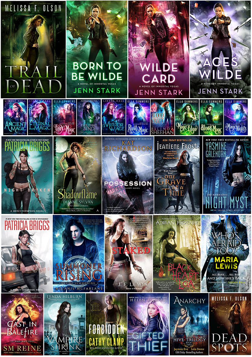 Contemporary Heroine / Urban Fantasy stock photography research