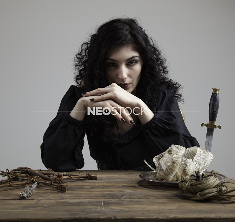 NeoStock - Sahara I Gypsy Witch, Stock Photography