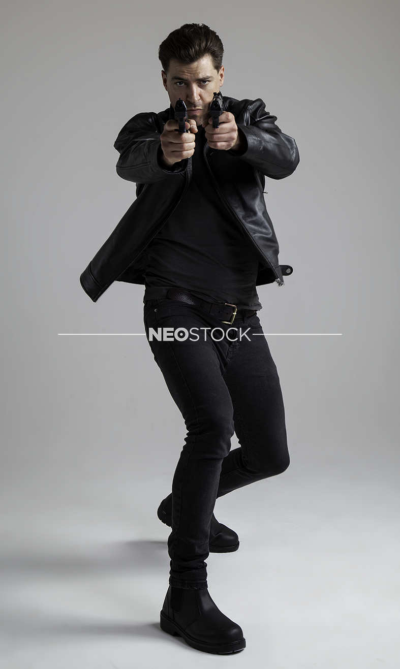 NeoStock - I Geoff, Action Hero, Stock Photography