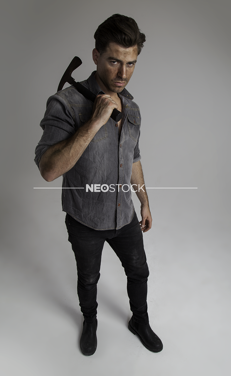 NeoStock - I Geoff, Apocalypse Hero, Stock Photography