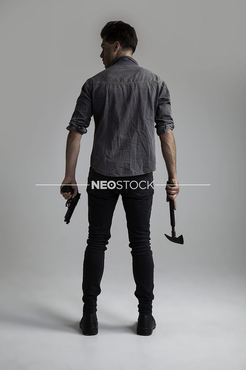 NeoStock - II Geoff, Apocalypse Hero, Stock Photography