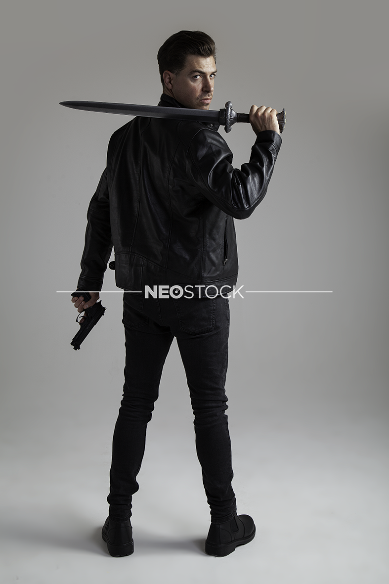 NeoStock - IV Geoff, Action Hero, Stock Photography