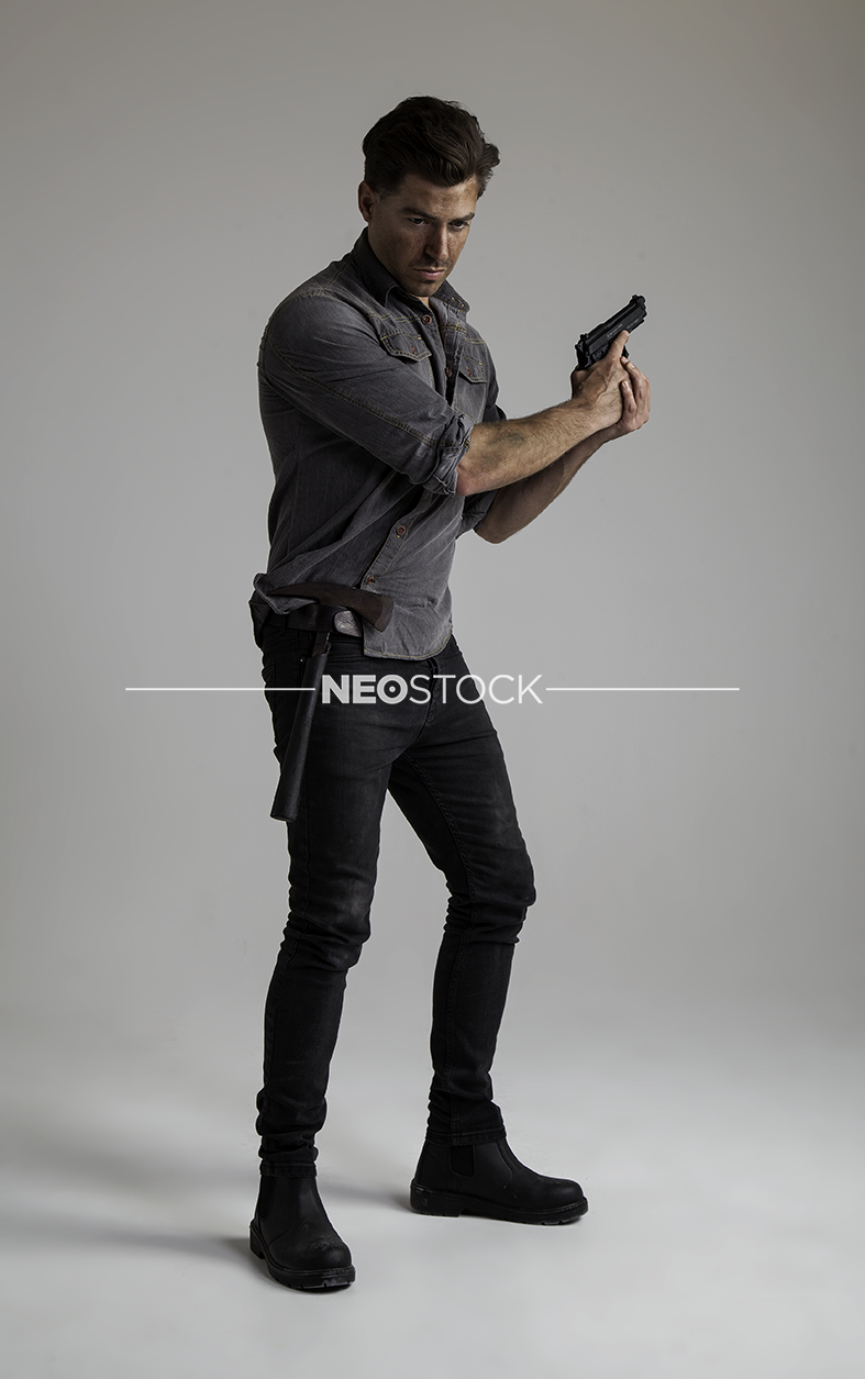 NeoStock - IV Geoff, Apocalypse Hero, Stock Photography