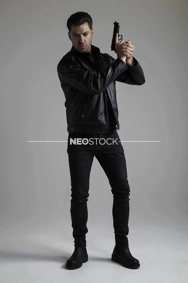 NeoStock - V Geoff, Action Hero, Stock Photography