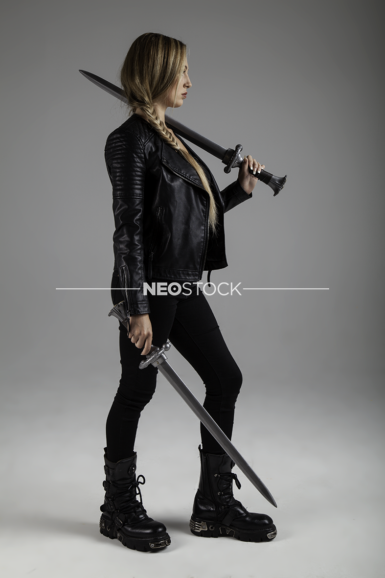 NeoStock -Billie III, Urban Fantasy, Stock Photography