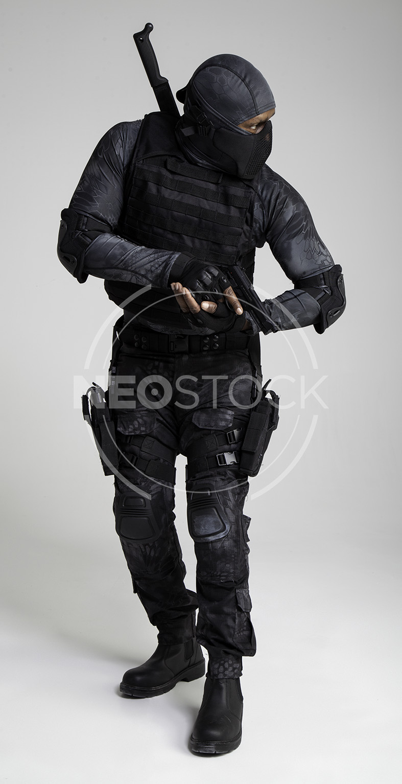 NeoStock -Regis VI, Tactical Assassin, Stock Photography