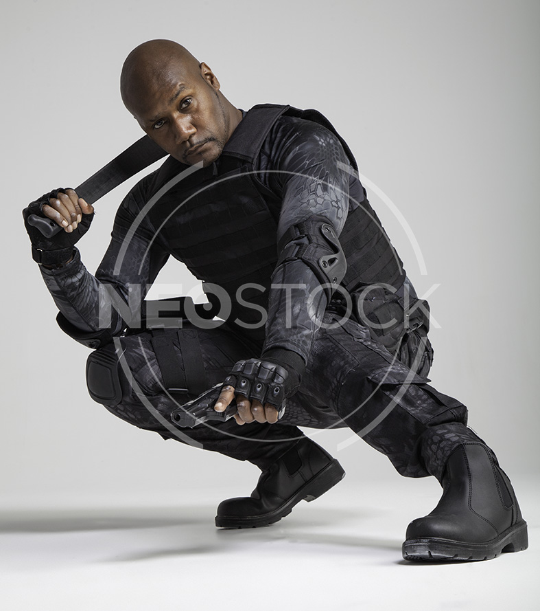 NeoStock -Regis V, Tactical Assassin, Stock Photography