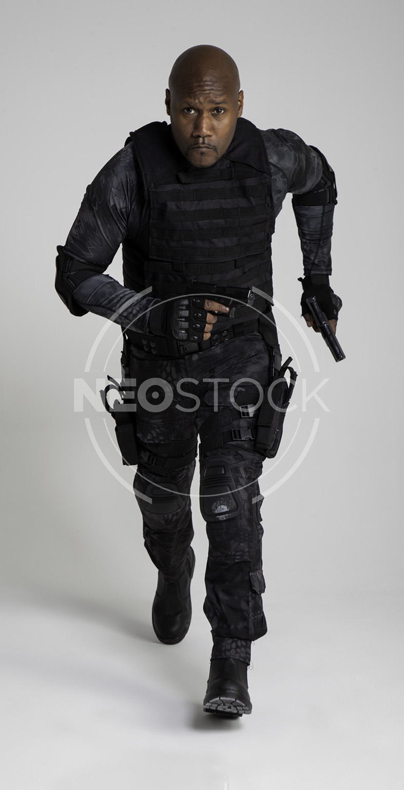 NeoStock -Regis IV, Tactical Assassin, Stock Photography