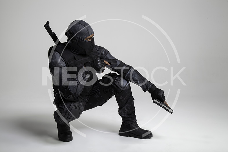 NeoStock -Regis I, Tactical Assassin, Stock Photography