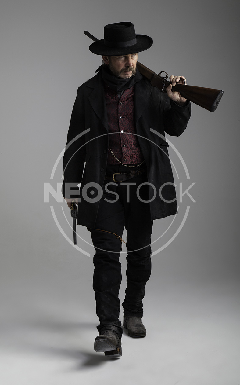 NeoStock - Mike V, Old West Cowboy, Stock Photography