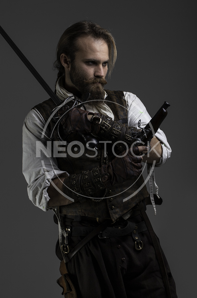 NeoStock - Karlos V, Steampunk Adventurer, Stock Photography