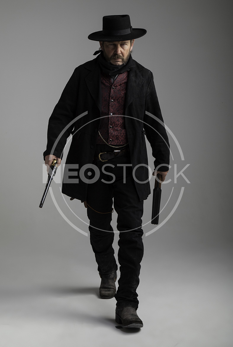 NeoStock - Mike IV, Old West Cowboy, Stock Photography