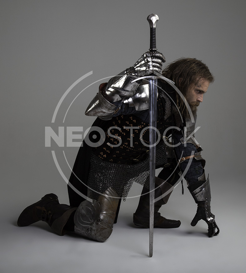 NeoStock - Karlos III, Grimdark Knight, Stock Photography