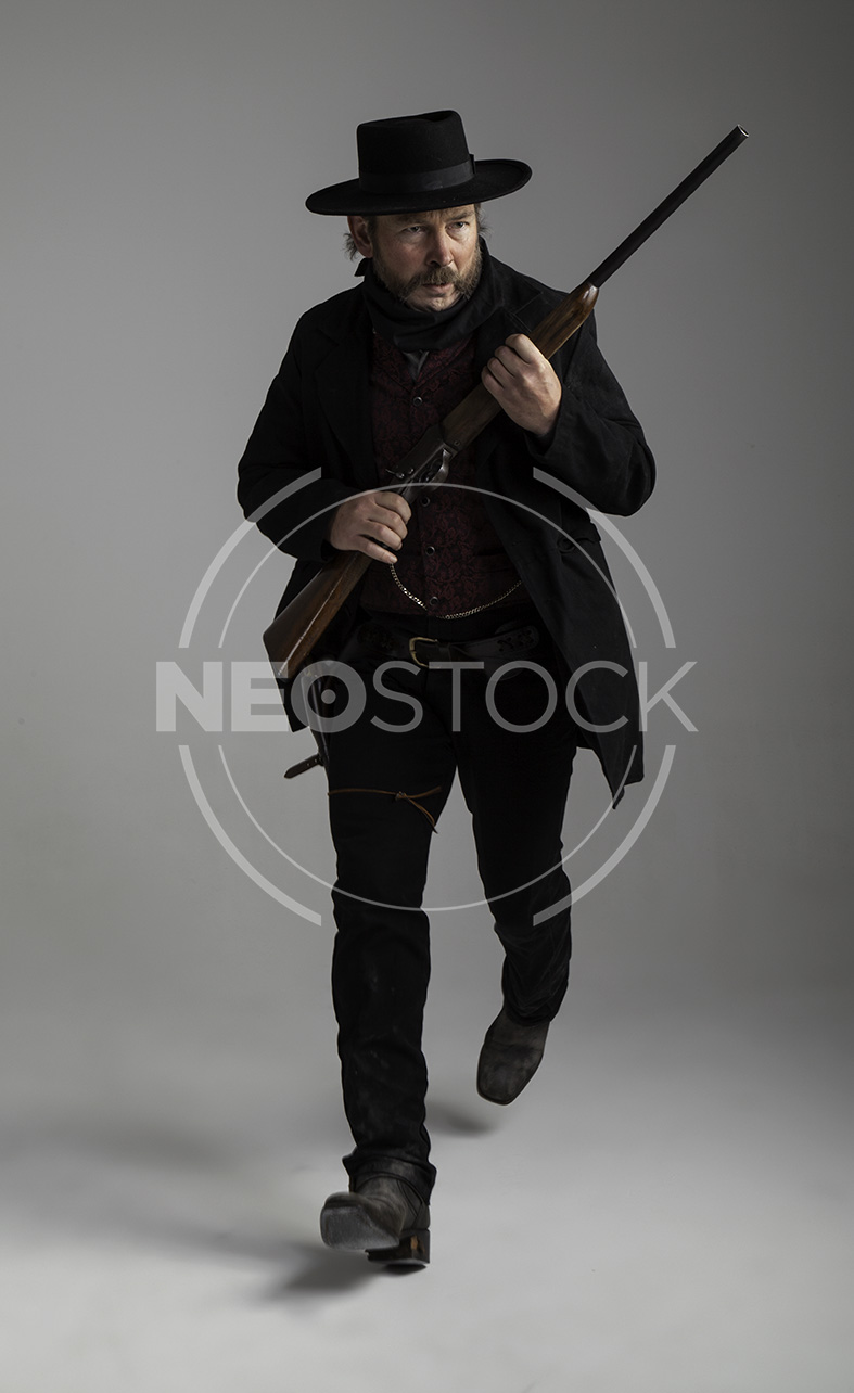 NeoStock - Mike III, Old West Cowboy, Stock Photography