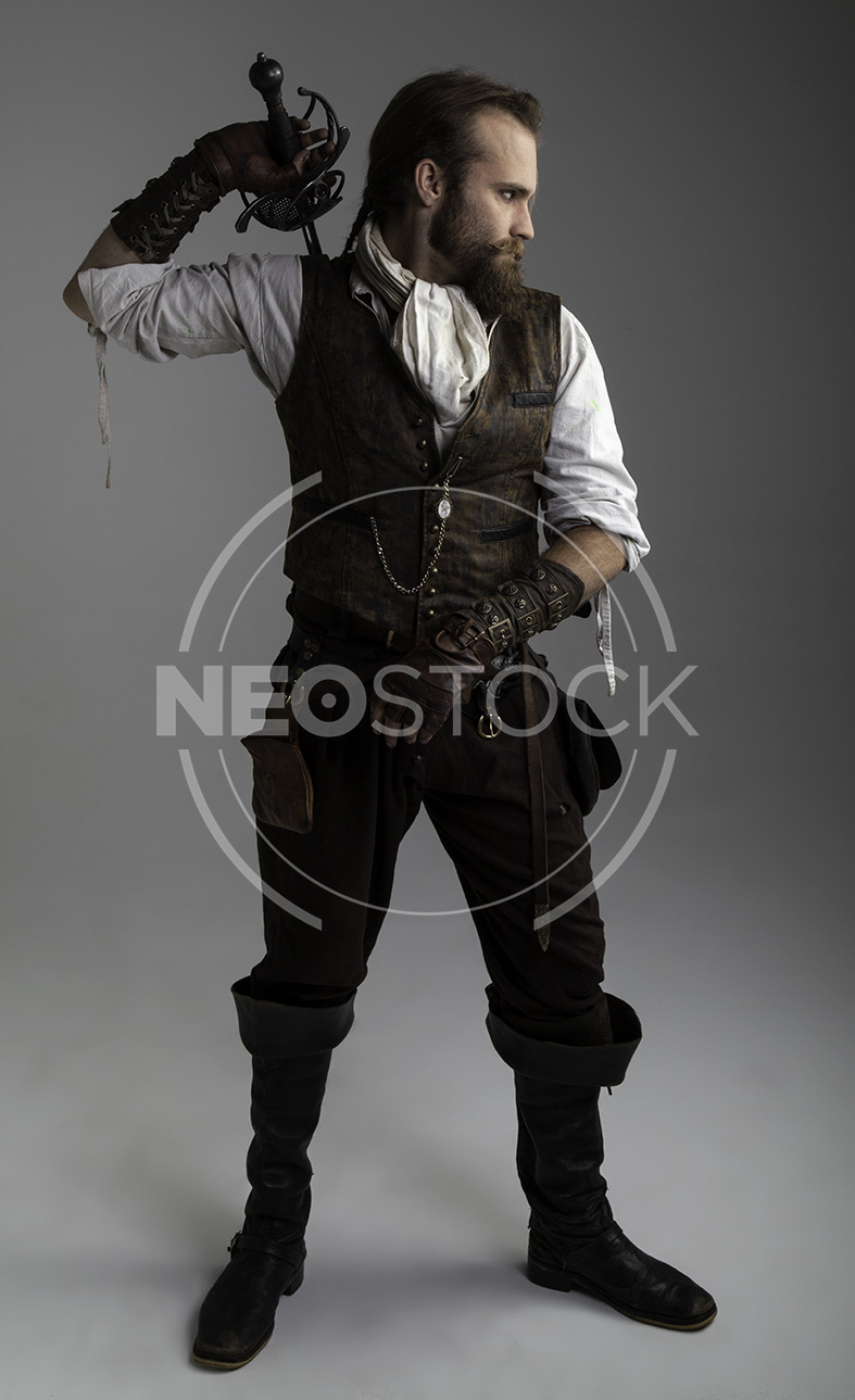 NeoStock - Karlos III, Steampunk Adventurer, Stock Photography