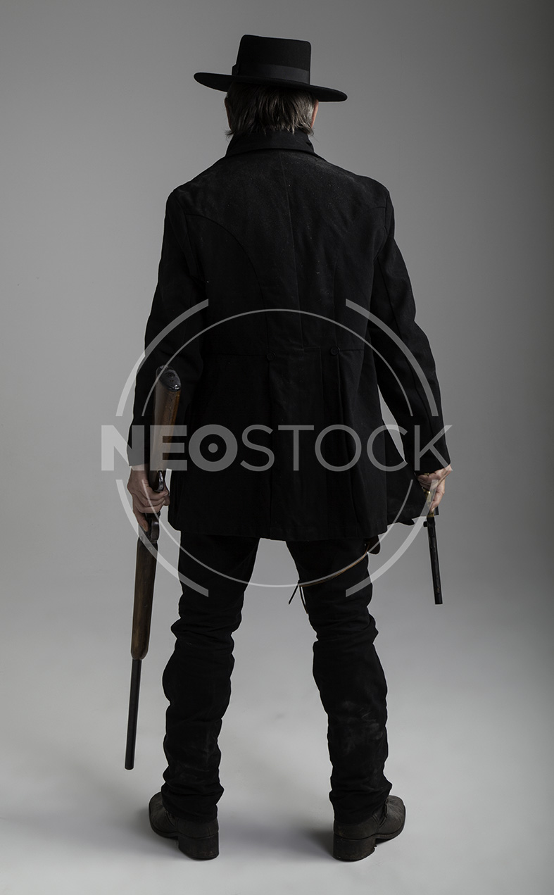 NeoStock - Mike II, Old West Cowboy, Stock Photography