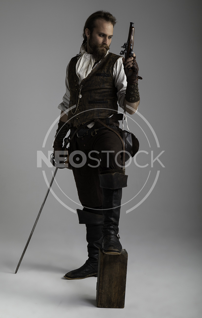 NeoStock - Karlos II, Steampunk Adventurer, Stock Photography