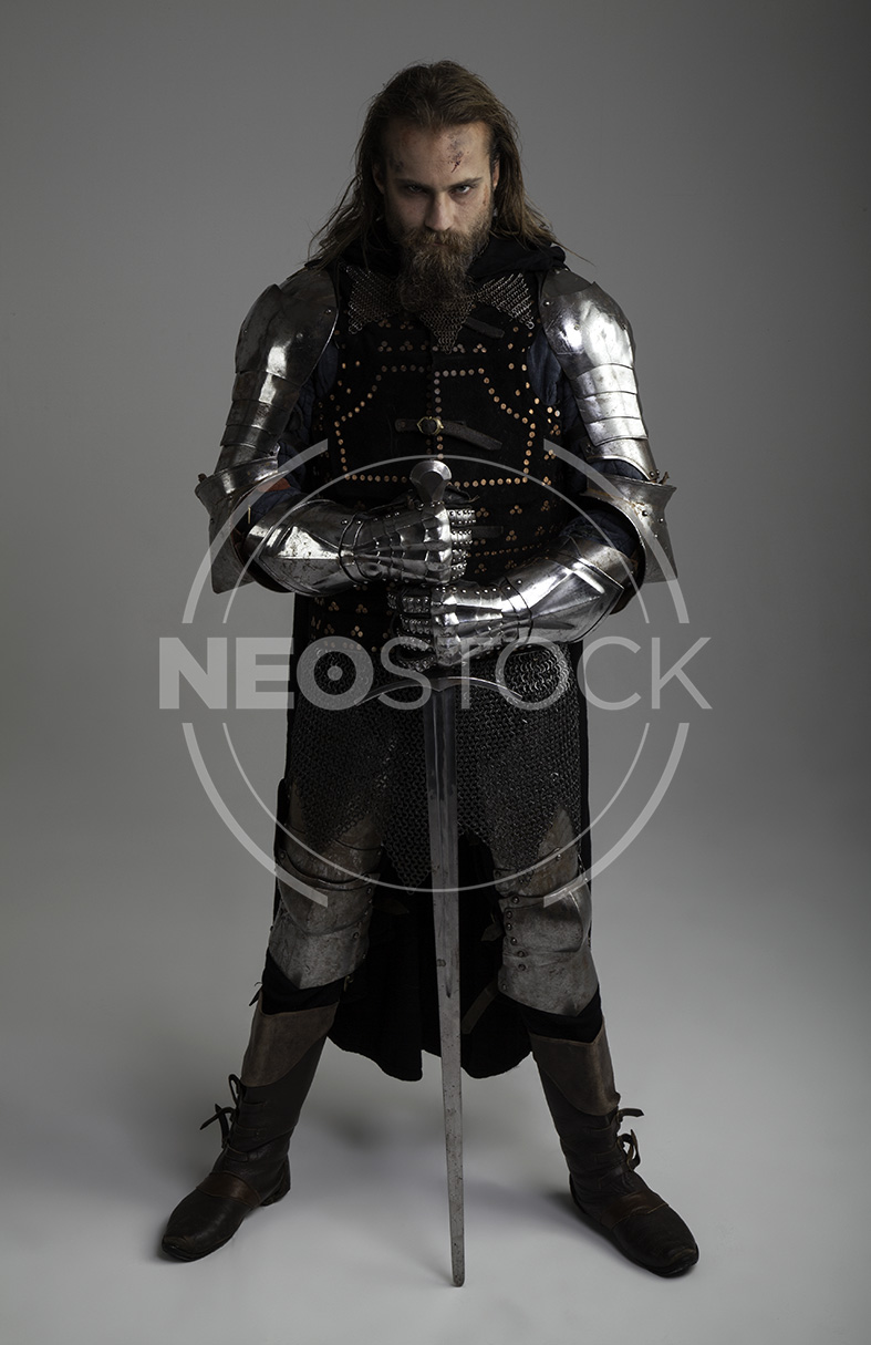NeoStock - Karlos I, Grimdark Knight, Stock Photography