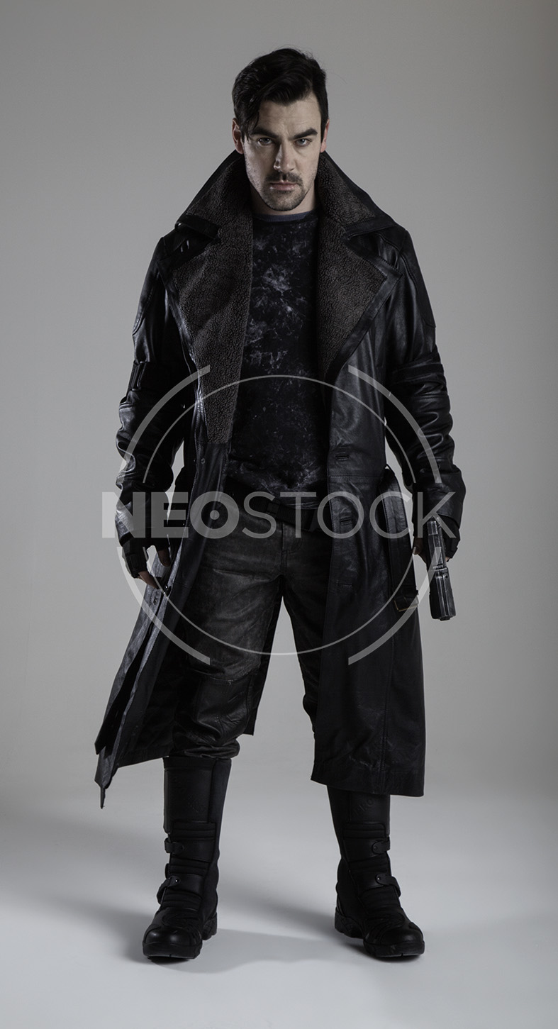 NeoStock - Cyberpunk Detective V, Stock Photography