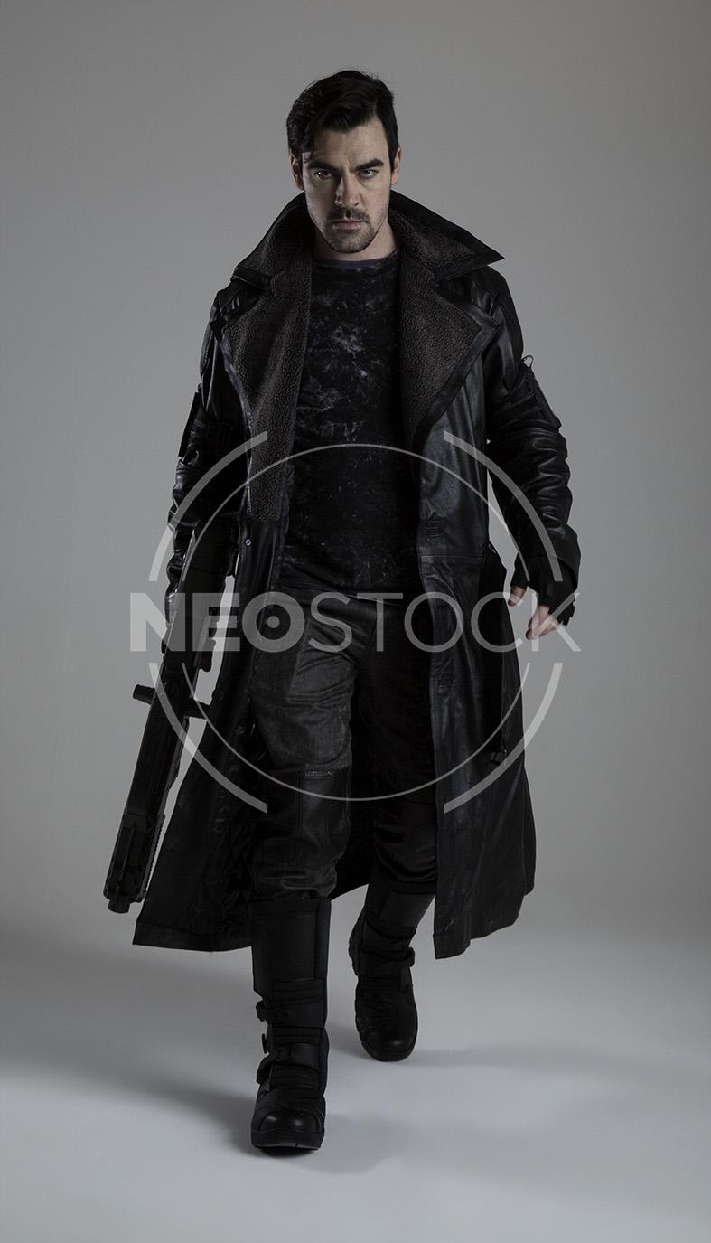 NeoStock - Cyberpunk Detective IV, Stock Photography