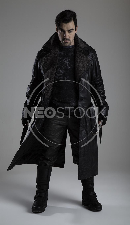 NeoStock - Cyberpunk Detective III, Stock Photography