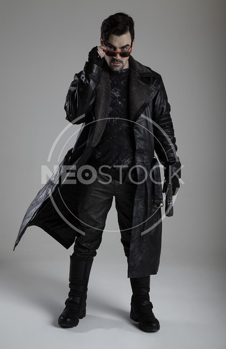 NeoStock - Cyberpunk Detective II, Stock Photography
