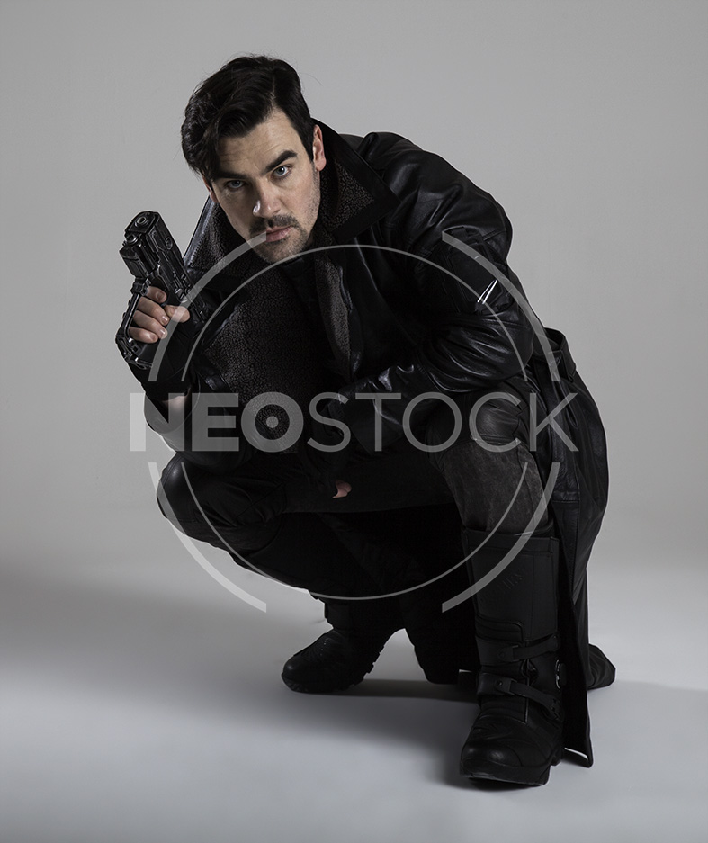 NeoStock - Cyberpunk Detective I, Stock Photography