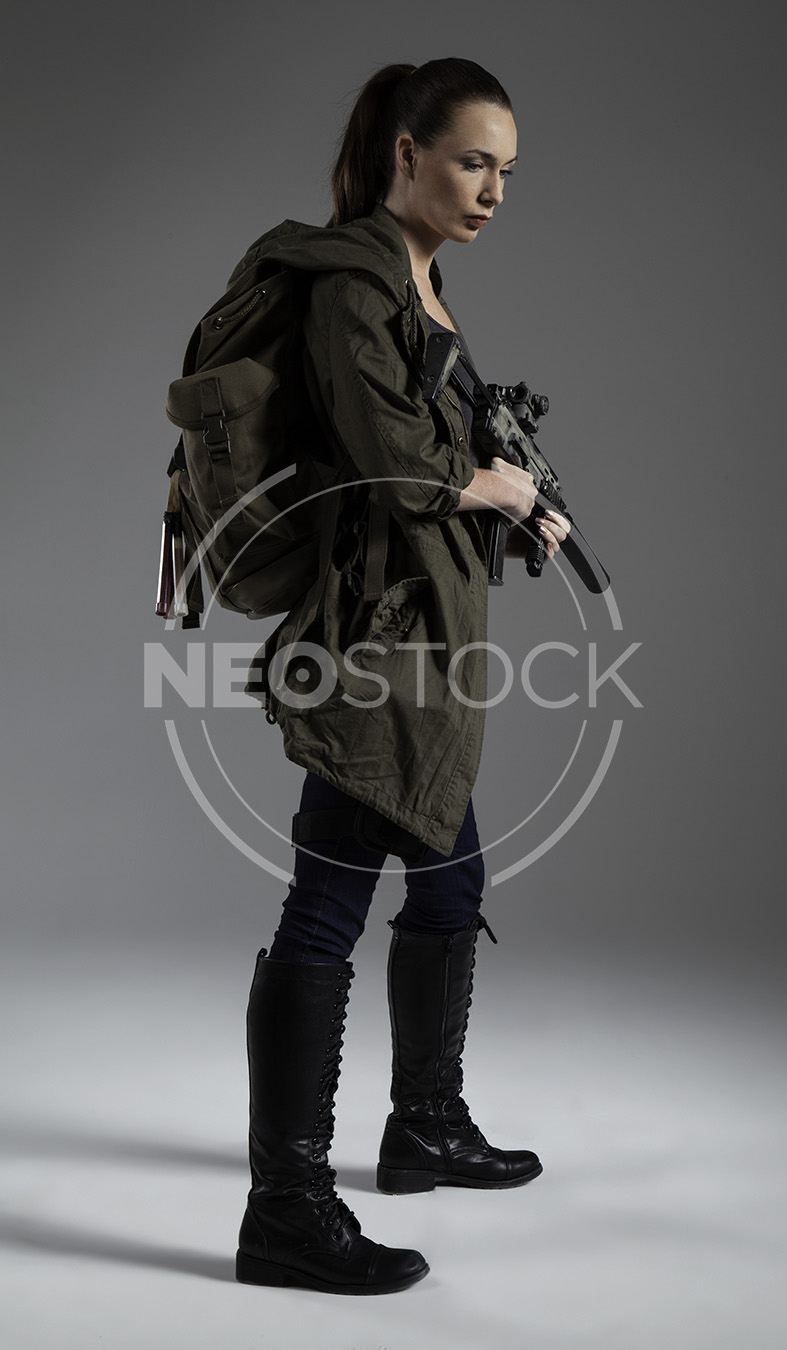 NeoStock - Donna Post Apoc I - Stock Photography