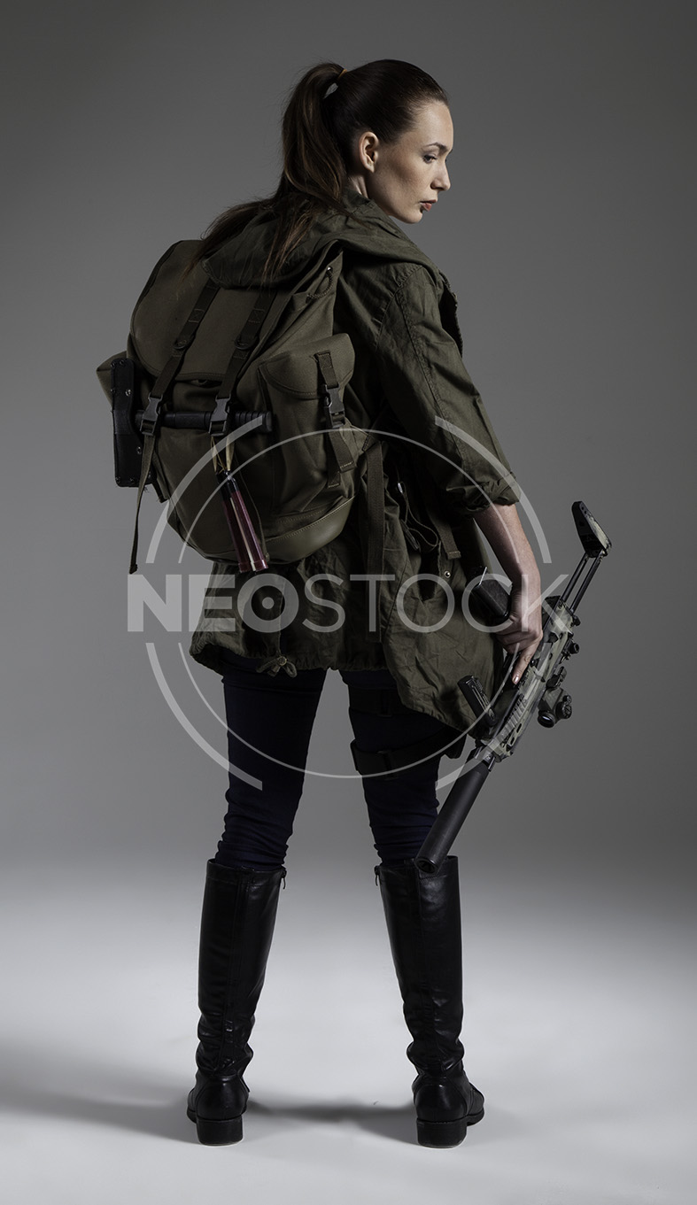 NeoStock - Donna Post Apoc II - Stock Photography