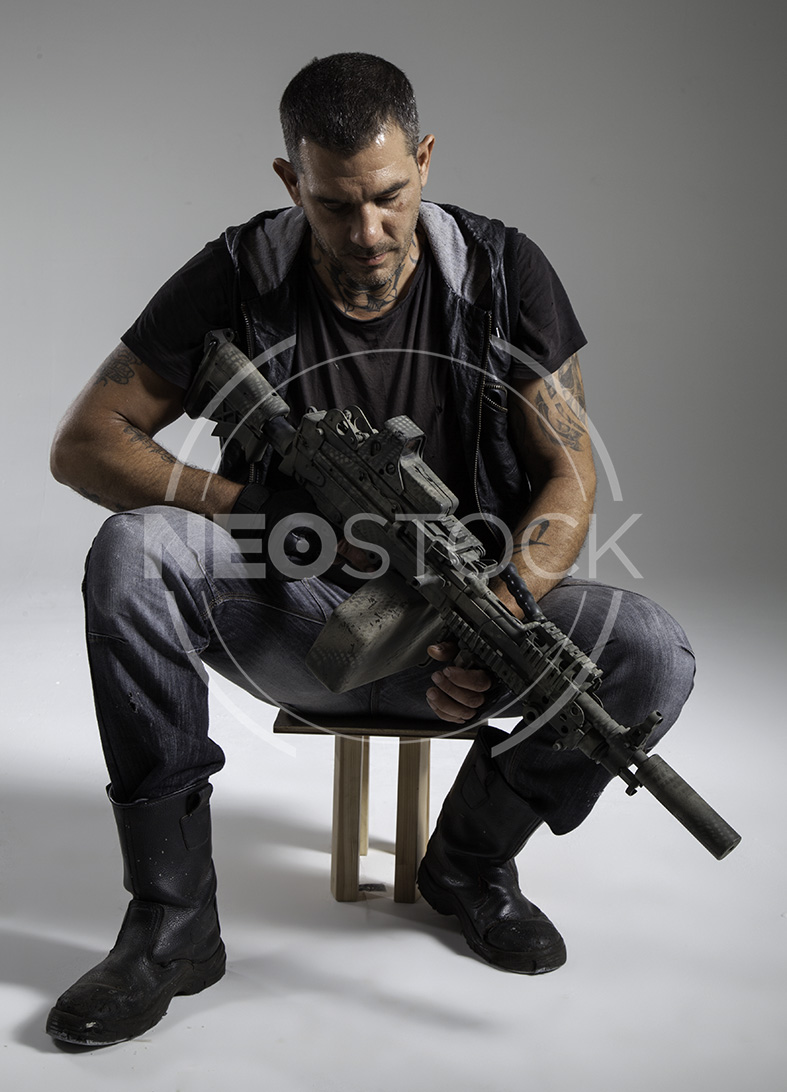 NeoStock - Lou Post Apoc IV - Stock Photography