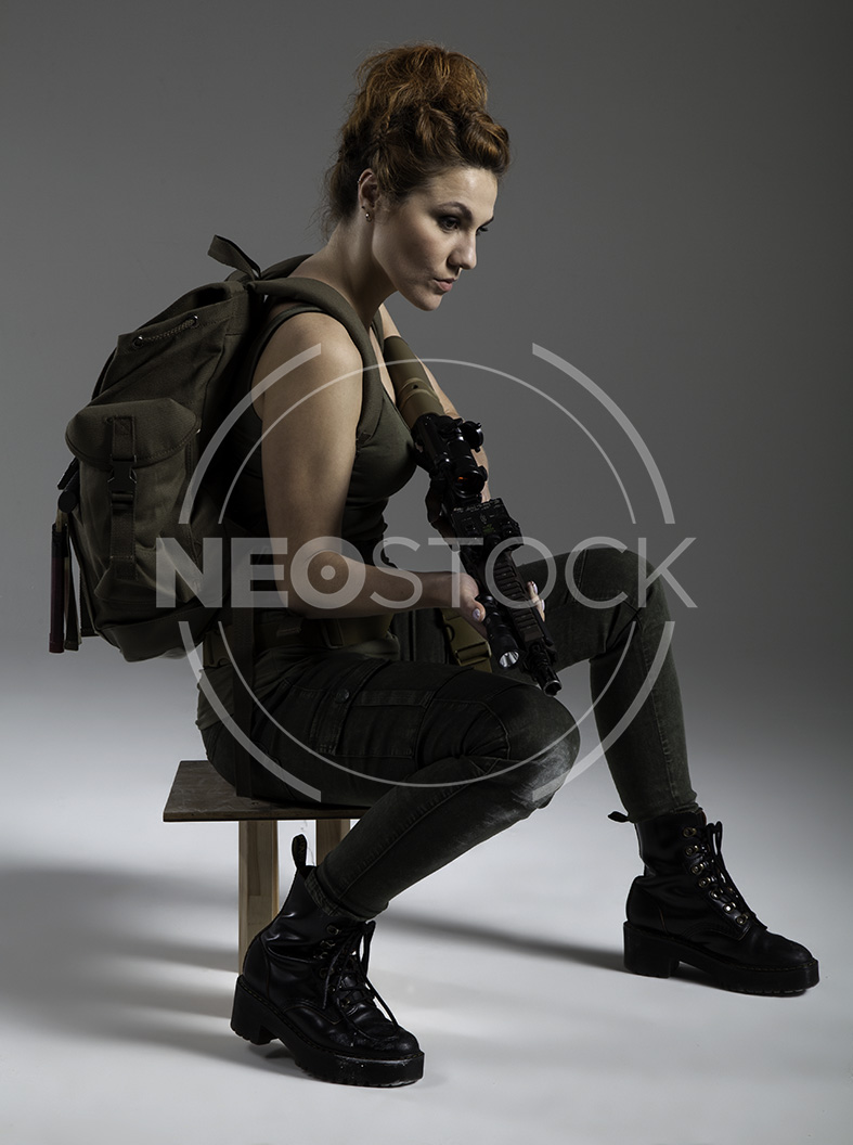 NeoStock - Mandy Post Apoc II - Stock Photography