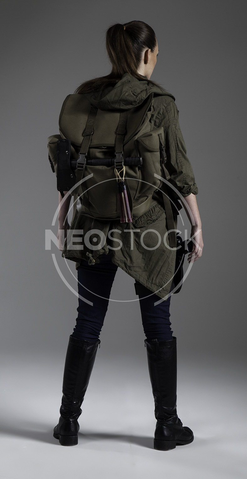 NeoStock - Donna Post Apoc III - Stock Photography