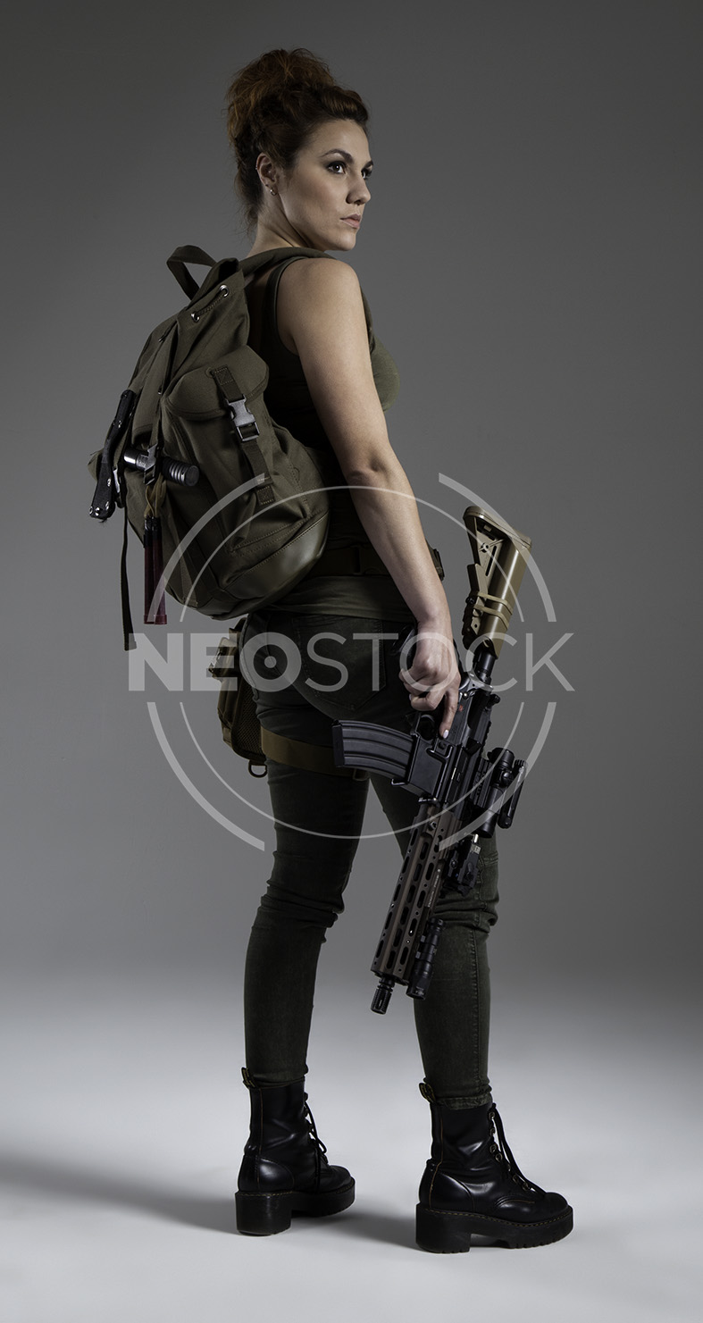 NeoStock - Mandy Post Apoc III - Stock Photography