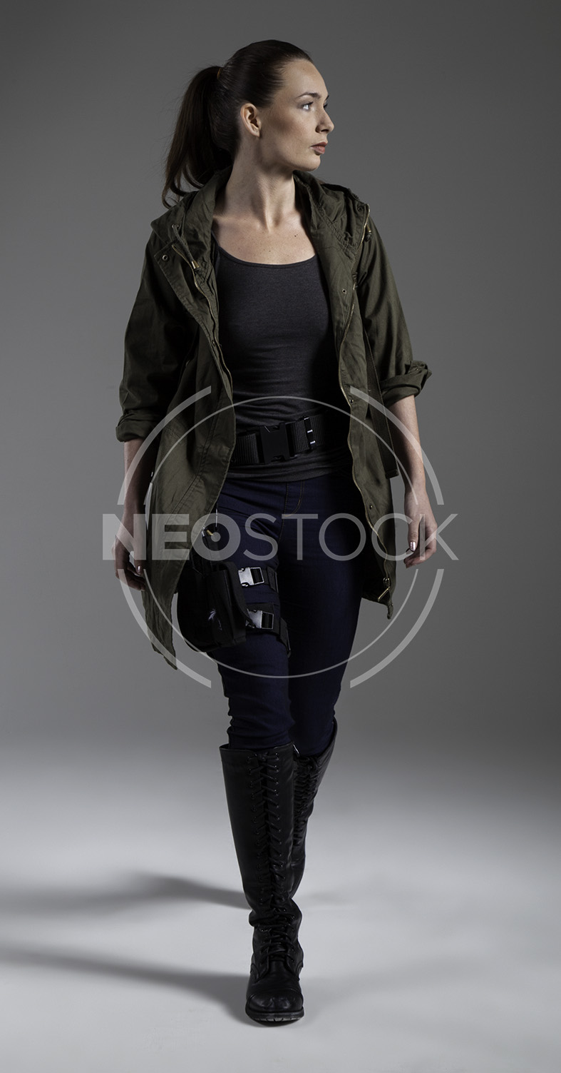 NeoStock - Donna Post Apoc IV - Stock Photography