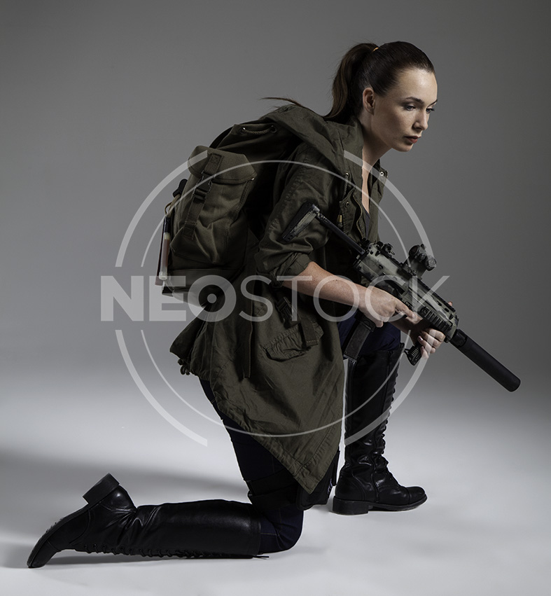 NeoStock - Donna Post Apoc V - Stock Photography