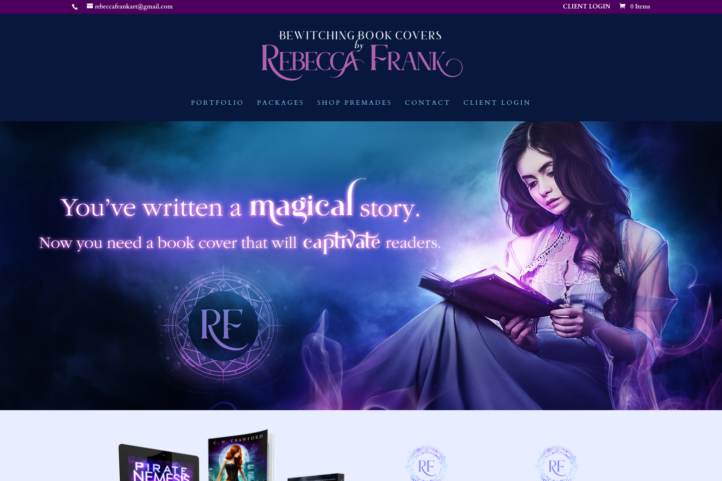 Rebecca Frank Cover Art Website
