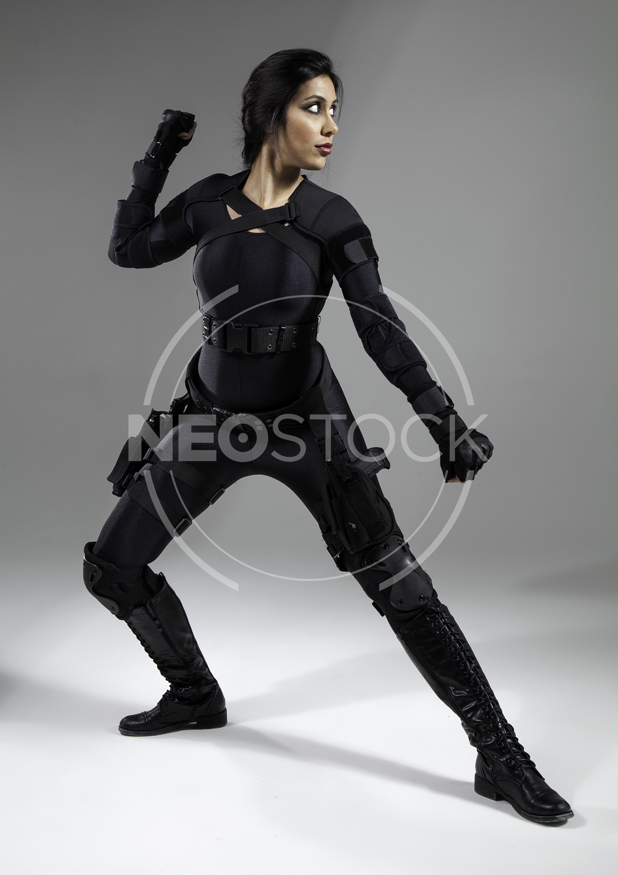 NeoStock - Nisha Future Cop I - Stock Photography