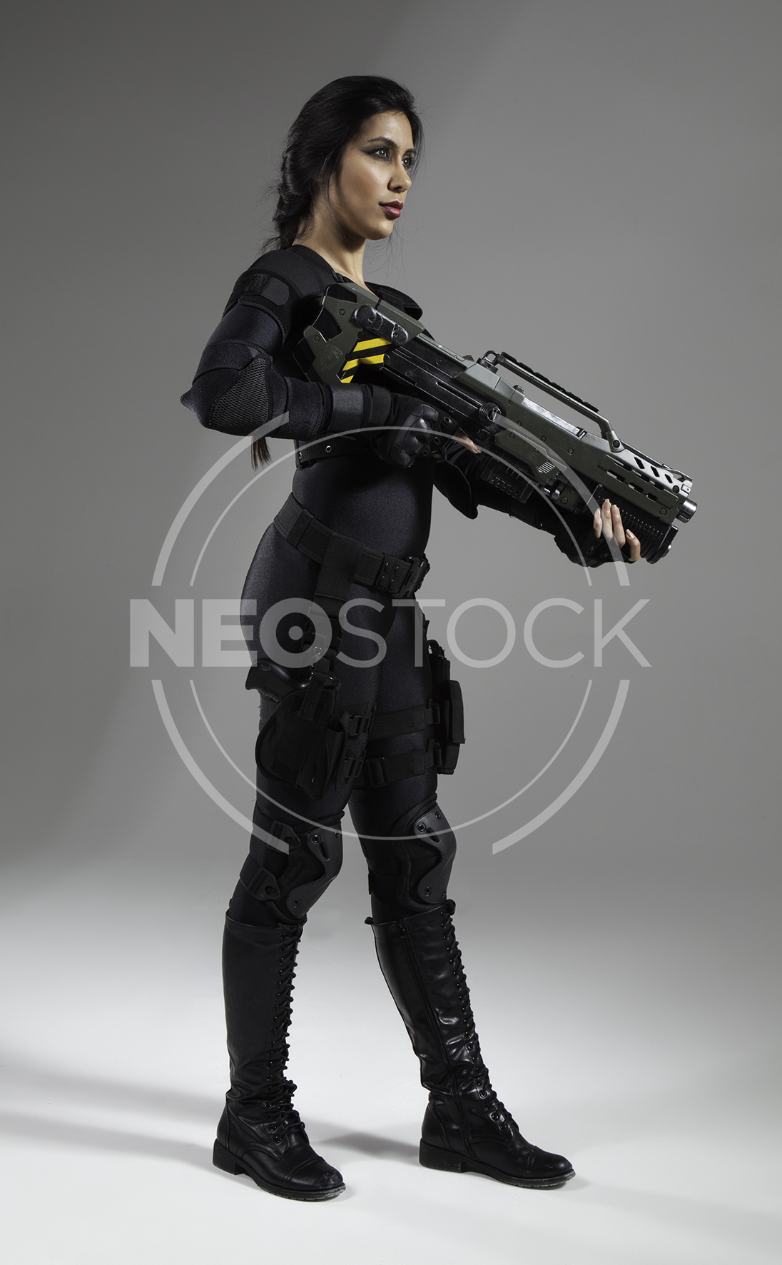 NeoStock - Nisha Future Cop II - Stock Photography