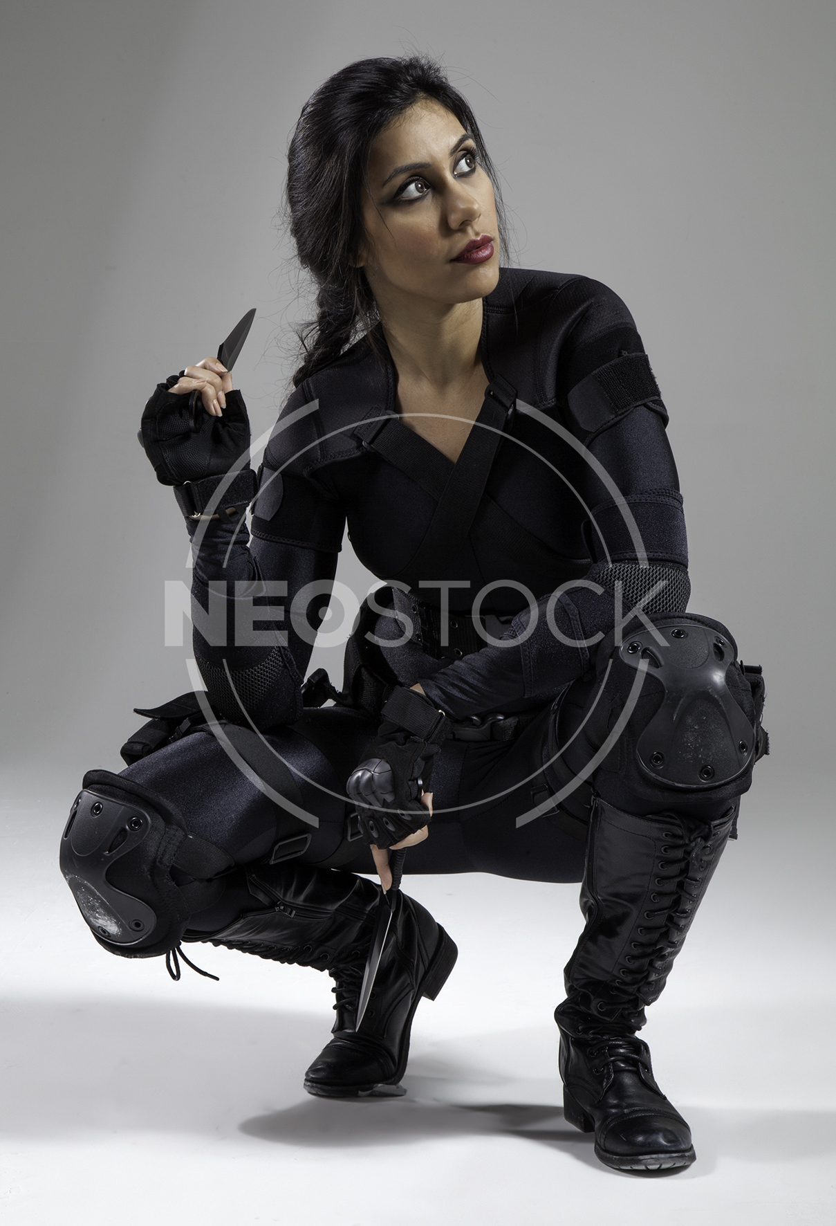 NeoStock - Nisha Future Cop III - Stock Photography