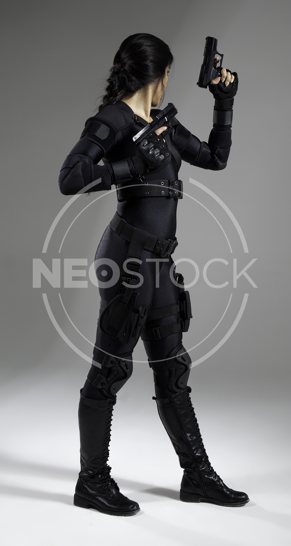NeoStock - Nisha Future Cop IV - Stock Photography