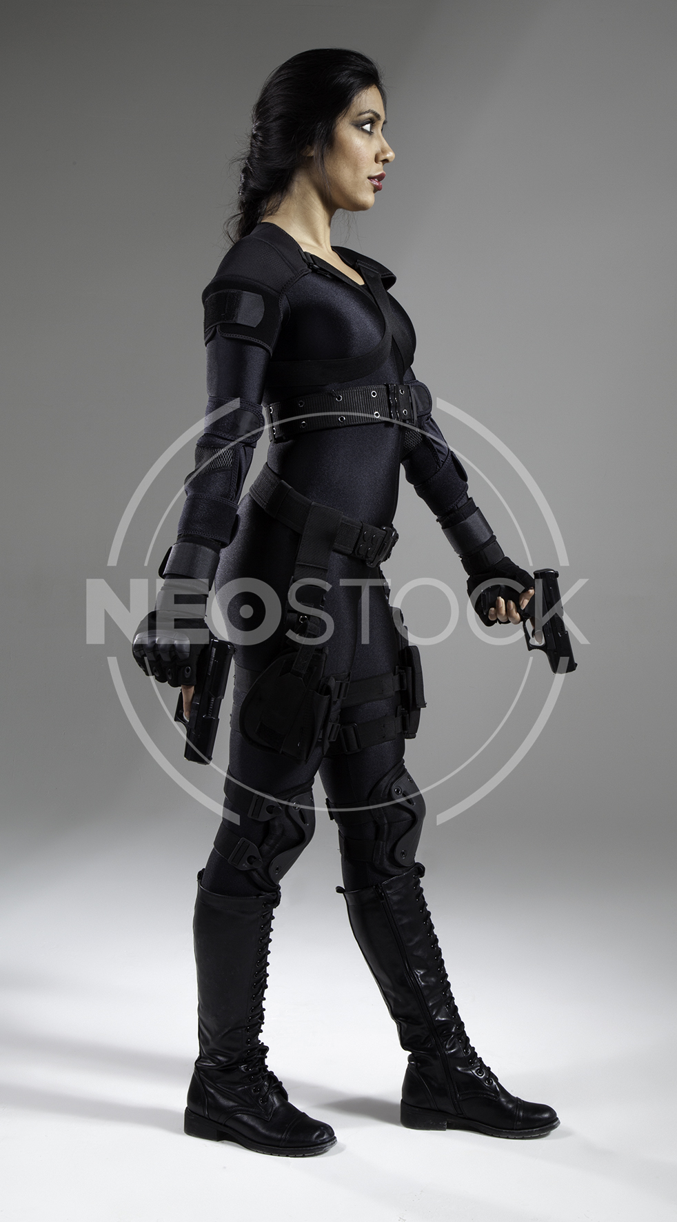 NeoStock - Nisha Future Cop V - Stock Photography