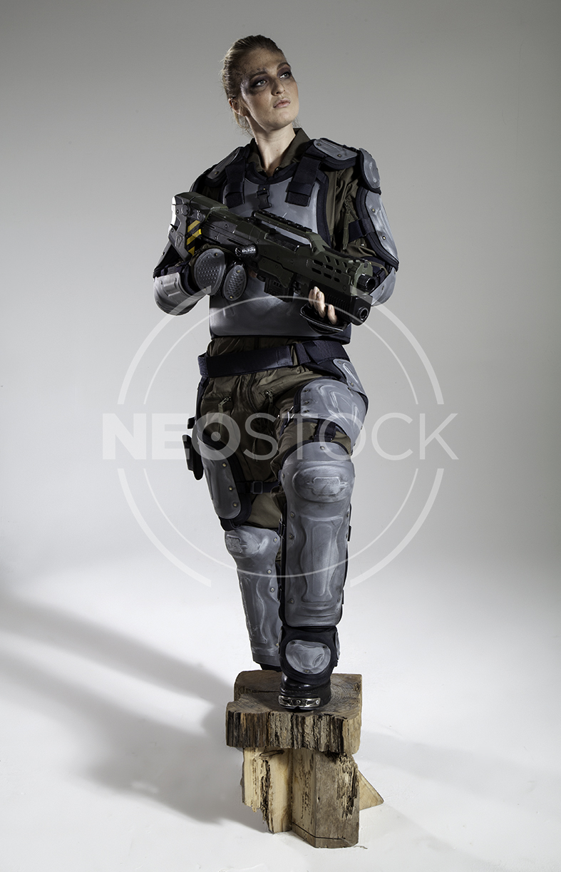 NeoStock - Pippa H Galactic Trooper Sci-Fi - Stock Photography I