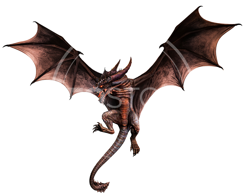 NeoStock - CG Wyvern Dragon Fantasy - Stock Photography I