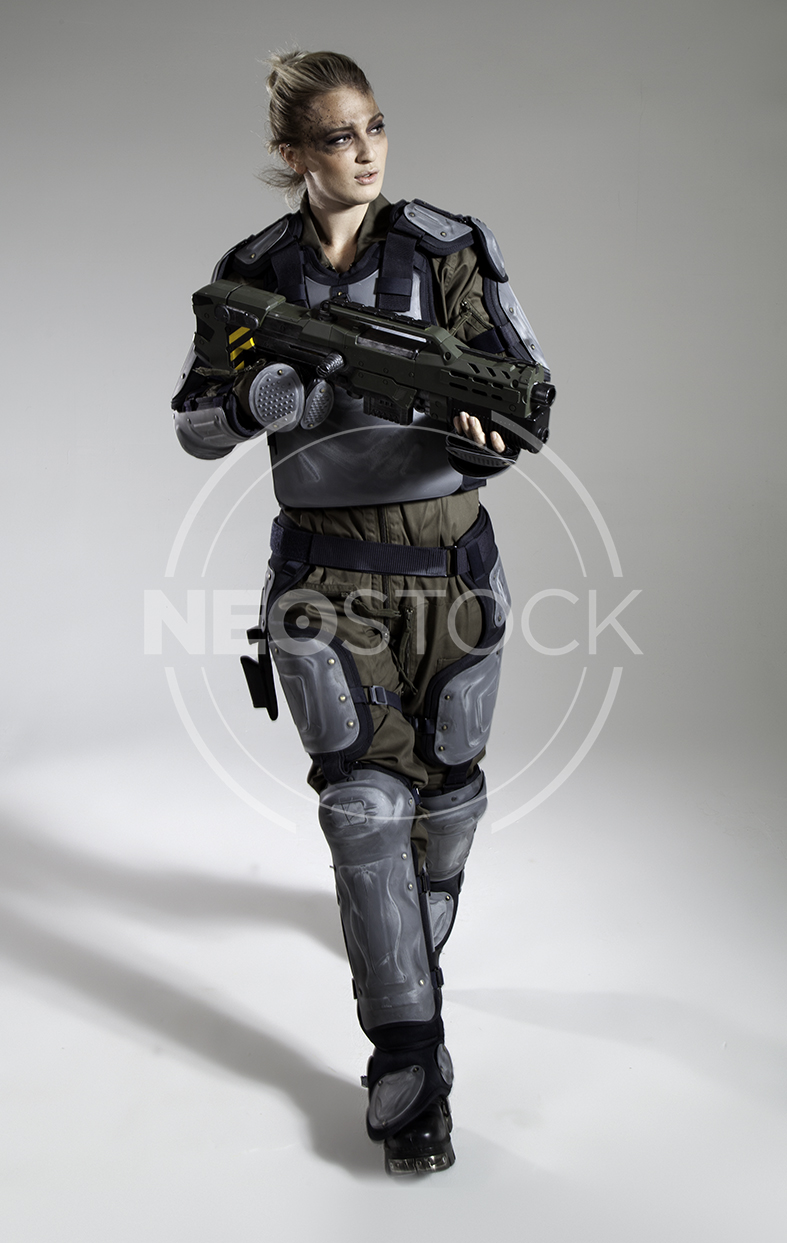 NeoStock - Pippa H Galactic Trooper Sci-Fi - Stock Photography