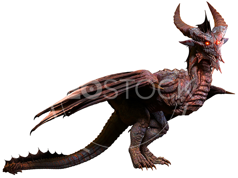 NeoStock - CG Wyvern Dragon Fantasy - Stock Photography V