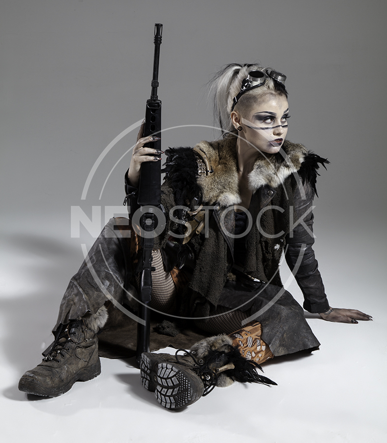 NeoStock - Megan Apocalypse Raider III - Stock Photography