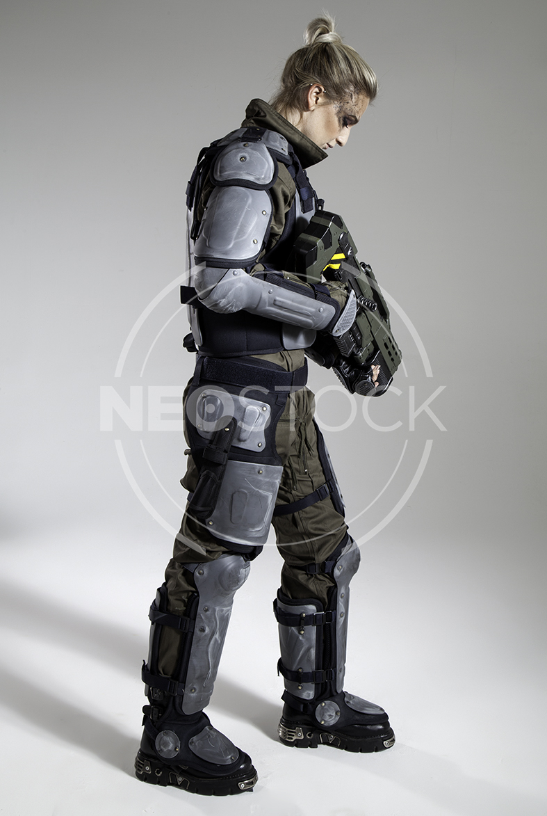NeoStock - Pippa H Galactic Trooper Sci-Fi - Stock Photography II