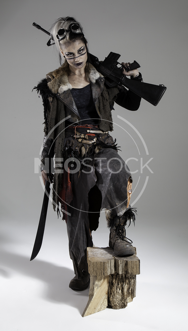NeoStock - Megan Apocalypse Raider IV - Stock Photography