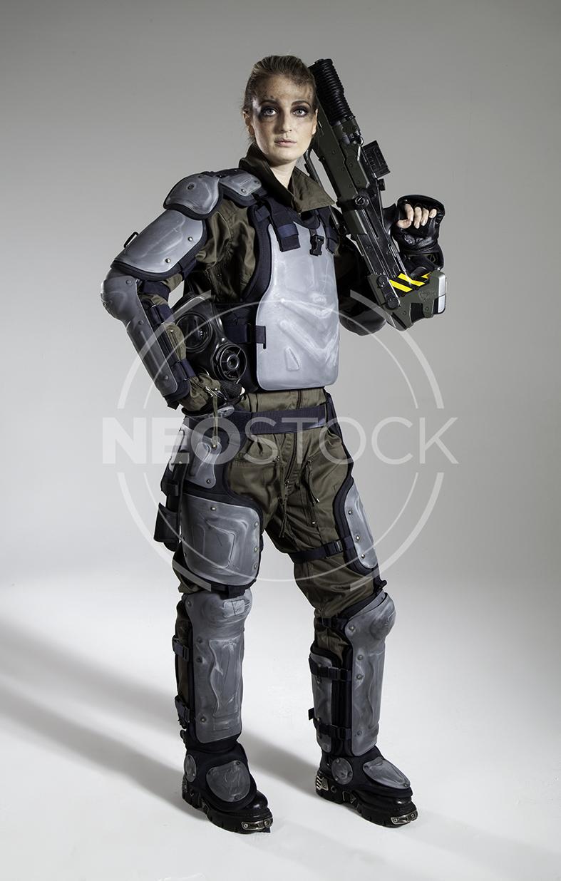 NeoStock - Pippa H Galactic Trooper Sci-Fi - Stock Photography III