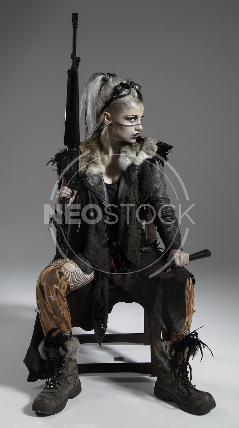 NeoStock - Megan Apocalypse Raider V - Stock Photography